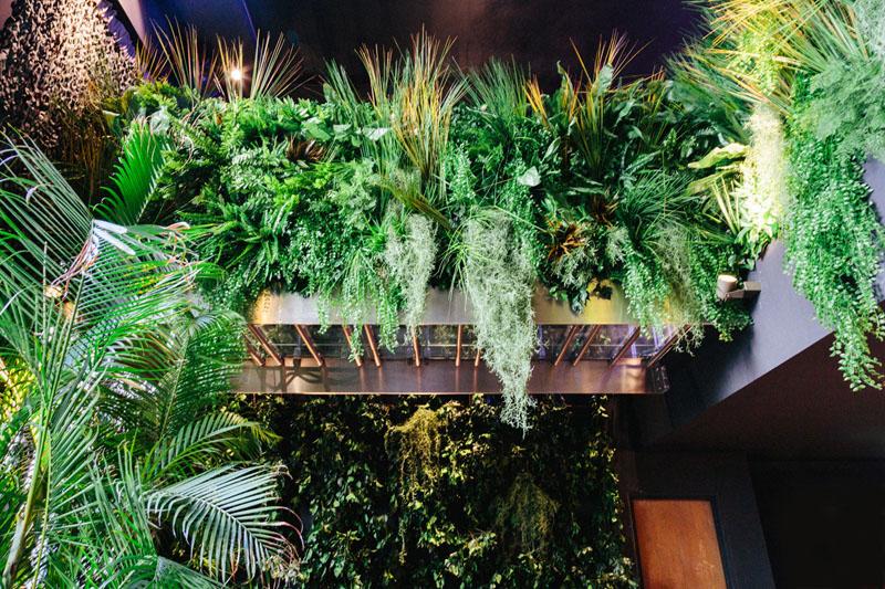 LiliGarden-KubeHotel-plante-stabilisée-mur-vegetal-jungle-interieure
